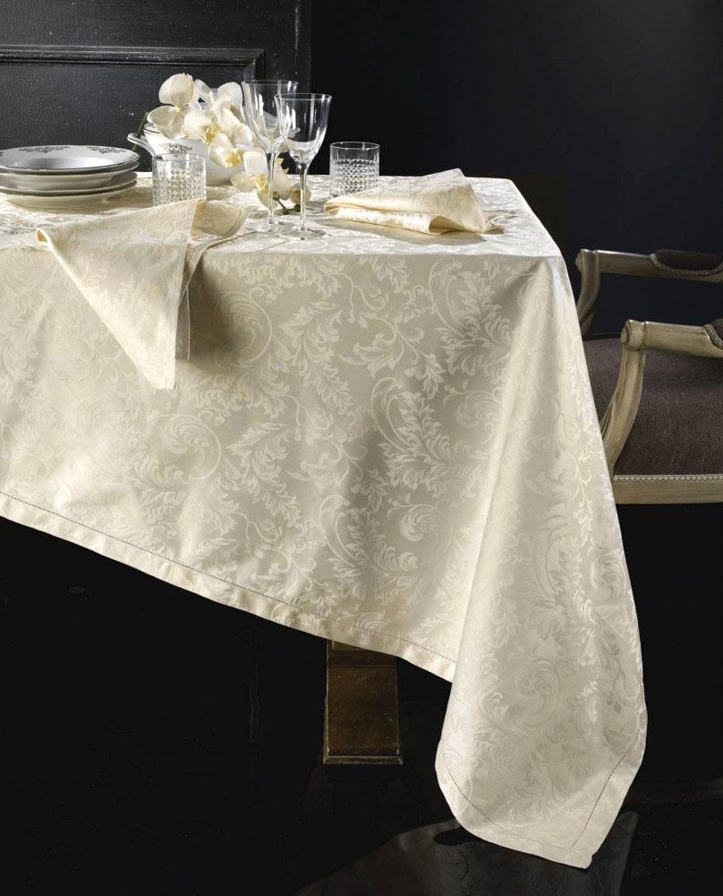 Tovaglia Da Tavola Moderna tovaglia cotone fiandra bianca avorio oro rossa