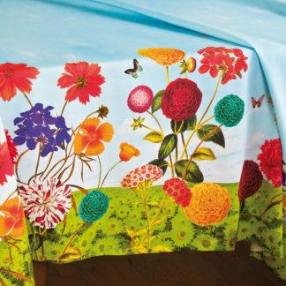 tovaglia fiori colorati