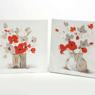 dipinto su tela fiori