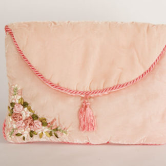 busta camicia velluto rosa