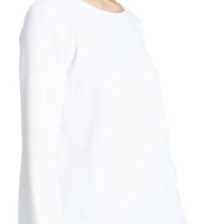 blusa donna bianca girocollo ragno