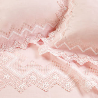 lenzuola matrimoniali ricamate sfilato lino