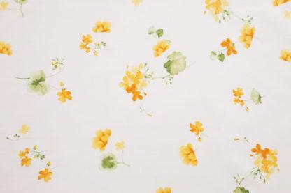 lenzuola matrimoniali fiori pizzo giallo