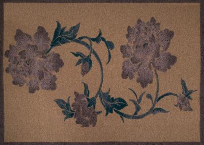 coperta plaid fiori