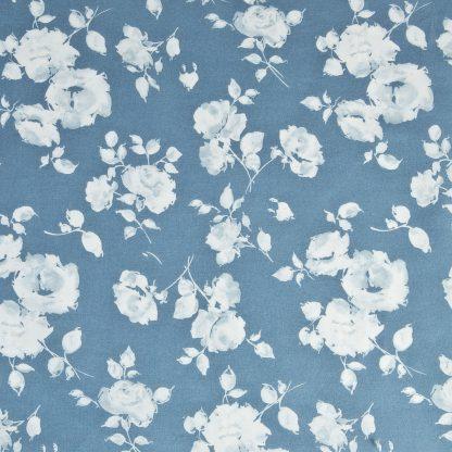 lenzuola matrimoniali rose azzurre