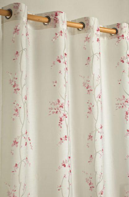 tendone fiori rosa fuxia