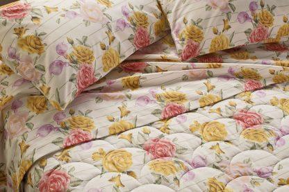 lenzuola bouquet rose