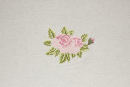 tovaglia ricamata rose