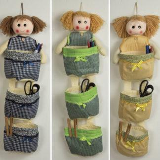 bamboline portaoggetti