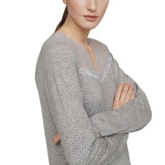 camicia notte maculata