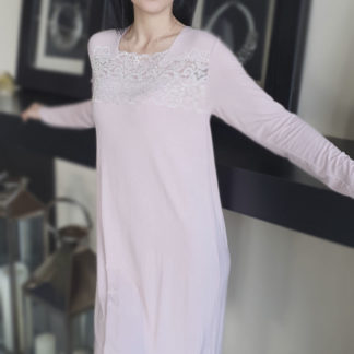 camicia notte rosa