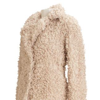 cappotto ricciolo donna miele