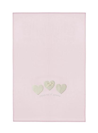 coperta lettino rosa