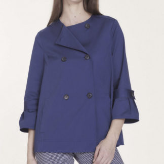 giacca blu ragno