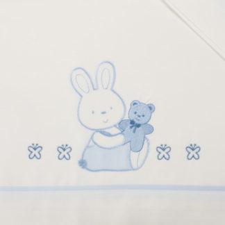 lenzuola culla lettino coniglietto