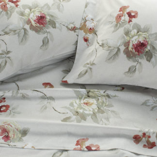 lenzuola matrimoniali rosa rossa