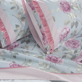 lenzuola matrimoniali rose