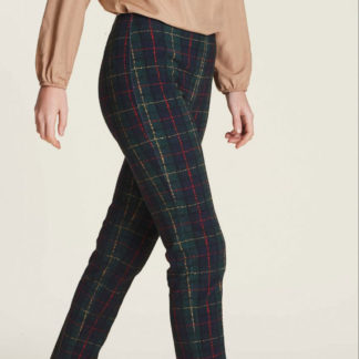 pantalone donna scozzese ragno
