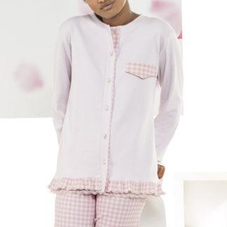 pigiama quadretti rosa