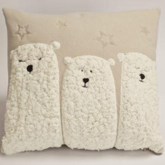 cuscino arredo pile orsi