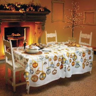 tovaglia natalizia tessitura toscana telerie