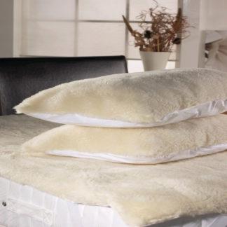 guanciale cuscino lana vello