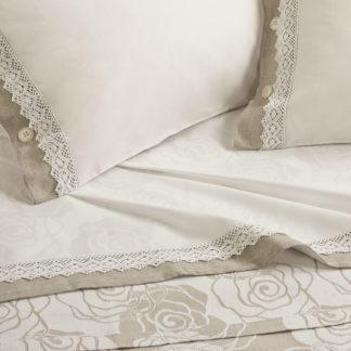 lenzuola matrimoniali balza lino