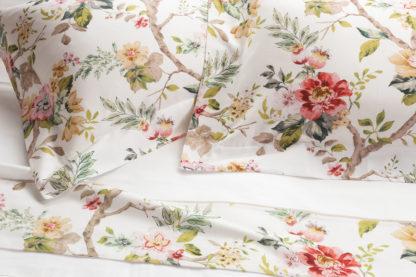 lenzuola matrimoniali cotone fiori