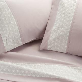 lenzuola matrimoniali cotone ricamo