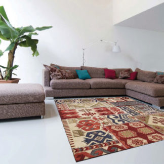 tappeto moderm kilim