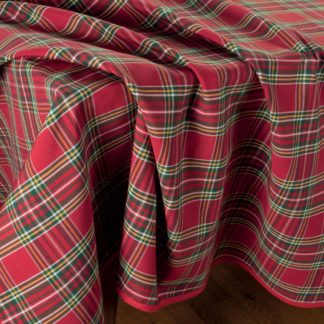 tovaglia da tavola scozzese tartan
