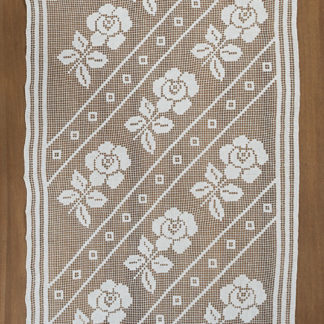 tende cotone ricamate filet fiori
