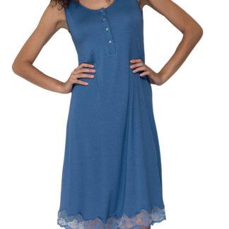 camicia notte azzurra