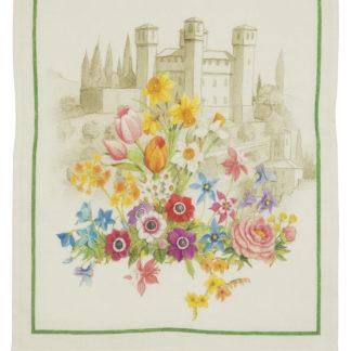 canovaccio strofinaccio floralia tessitura toscana telerie