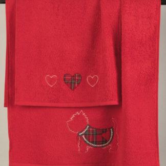 asciugamani spugna scozzese maryhome