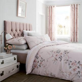 copripiumino matrimoniale cotone fantasia floreale rose