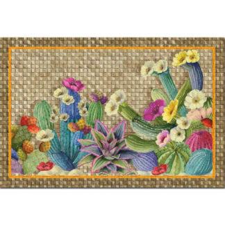 tappeto cactus tessitura toscana telerie