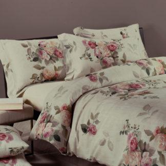 copripiumino matrimoniale rose fiori caleffi