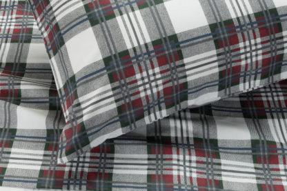 lenzuola matrimoniali singole scozzese