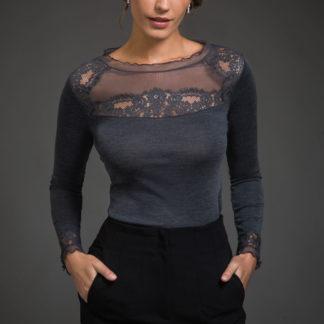 maglia donna lana seta madiva