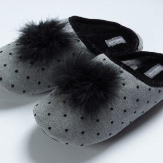 pantofola donna pois