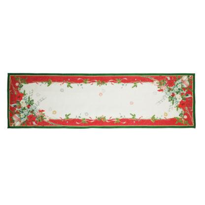 runner natalizio tessitura toscana telerie