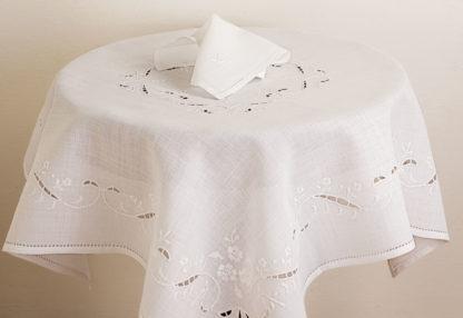 tovaglia the ricamata lino